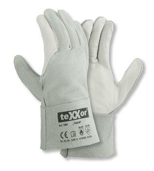 teXXor® Rindvoll-/Spaltleder Handschuhe